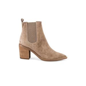Tony Bianco Sabrine Suede Chelsea Point Toe Bootie